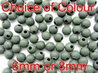 High Impact Shock Beads. Carp Fishing Rigs soft rubber stop Buffer