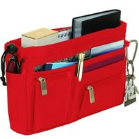 handbag2handbag, Ladies RED luxury handbag organiser