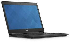 Dell Latitude E7470, i7 6600U 2.6 GHz, 4GB RAM, 250GB SSD, W10P