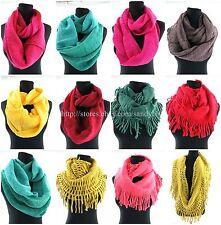 US SELLER-12pcs wholesale scarf women winter fall infinity fashion scarf