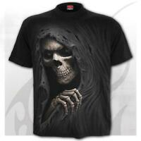 SPIRAL DIRECT GRIM REAPER T-Shirt,Reaper/Biker/Skull/Goth/Gothic/Dark/Top/Tee
