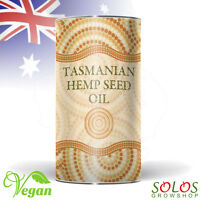 HEMP SEED OIL TASMANIAN GROWN ORGANIC PRODUCT OF AUSTRALIA 250ml, 500ml, 1l, 2l
