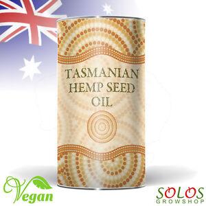 HEMP SEED OIL TASMANIAN GROWN ORGANIC PRODUCT OF AUSTRALIA 250ml, 500ml, 1l, 2l