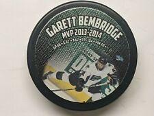 Garett Bembridge (Denver Cutthroats) 2013-14 CHL MVP puck - last ever CHL MVP