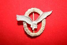 WW2 1957 GERMAN LUFTWAFFE AIR FORCE PILOT'S QUALIFICATION BADGE NOT NAZI