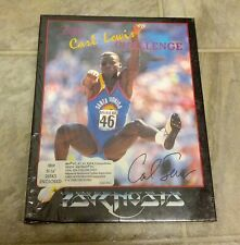 "The Carl Lewis Challenge Psygnosis 1992 5.25"" DOS Floppy Disks - Partial Sealed"