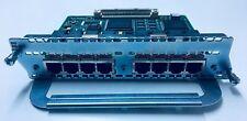 Cisco NM-8B-S/T 8-Port ISDN BRI Network Module 1 Yr. War. Free Ship World Qty 4