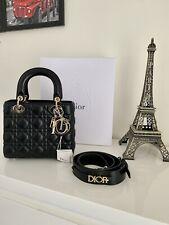 Authentic Dior Lady Abc Medium Lambskin (Black)