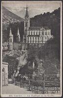 AA5093 France - Lourdes - La Basilique et la Grotte - Postcard - Cartolina