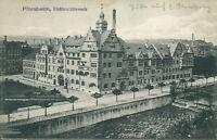 Ansichtskarte Pforzheim Elektrizitätswerk 1917  (Nr.844)