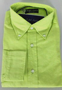 RALPH LAUREN PURPLE LABEL,ITALY-CLASSIC GREEN BTDWN-$375-L-SpeciaL