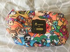 BNWT tokidoki lesportsac dolcezza sorbetto makeup cosmetic bag hawaii exclusive
