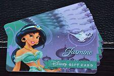 NEW 2016 Disney Gift Card A Royal Debut Jasmine Design Celebrates Princesses
