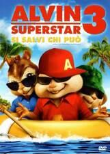 ALVIN SUPERSTAR 3 DVD COME NUOVO PERFETTO