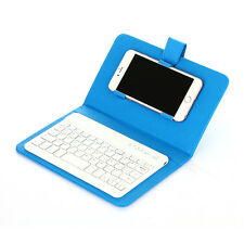 Phone Wireless Bluetooth Keyboard Case Cover Holder for iPhone Samsung LG HTC