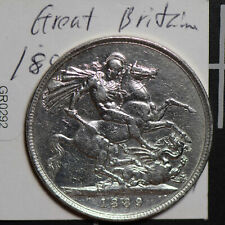 Great Britain 1899 Crown silver GR0292 combine