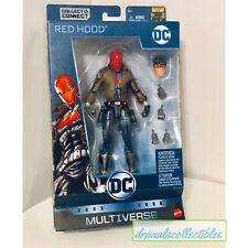 "DC Multiverse RED HOOD Jason Todd 6"" Figure Brand New Batman 80 Years HTF"