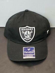 Las Vegas Raiders NFL Football Fanatics Pro Line Adjustable Cap Hat Authentic