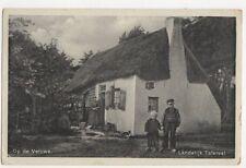 Op De Veluwe Landelijk Tafereel Netherlands 1918 Postcard 358a
