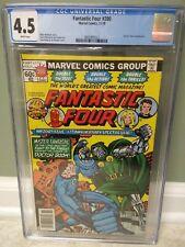 Fantastic Four #200 CGC 4.5 Doctor Doom Battle Keith Pollard MARVEL COMICS 🇺🇸