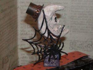 "Dollhouse Miniatures Halloween ""Gothic Crescent Moon"""