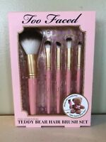 Too Faced Pro-Essential Teddy Bear Hair Brush Set - Makeup Brushes
