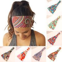 Damen Stirnband Haarband Kopfband Kopfschmuck Headband Yoga Sport Schweißband