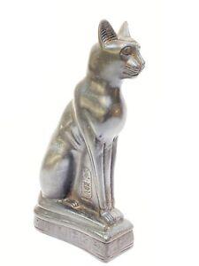 Ägypten Stein - Figur Skulptur Göttin BASTET Tempel - Katze,  alte Replik