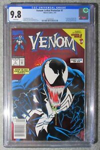 VENOM LETHAL PROTECTOR #1 CGC 9.8 (2/93) SCARCE NEWSSTAND VARIANT WHITE PAGES