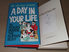*Signed* DR HILARY JONES 'A Day in Your Life: 24 Hours Inside the Human Body'