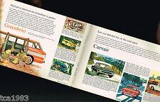 1962 Chevrolet CORVAIR Brochure:MONZA,700,GREENBRIER,