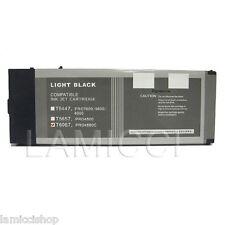 Wide Format Cartridge T6067 Compatible for Epson 4880 Pigment Light Black Ink