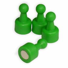 CMS Magnetics® NeoPin® GREEN Magnetic Push Pins Each Holds 16 Pages 24-Piece Set