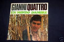 GIANNI QUATTRO - UN MONDO D'AMORE - LP 1967 (+ omaggio)
