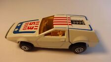 Matchbox #53 White Tanzara - Loose & Nice