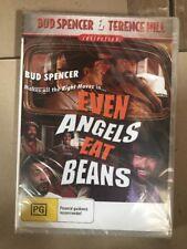 Bud Spencer Terence Hill Even Angels Eat Beans DVD New Australia Region 4