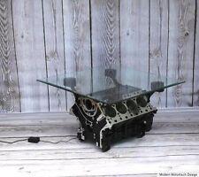 Ab sofort Porsche Cayenne V8 Motor Block Couchtisch Table Motortisch Handmade