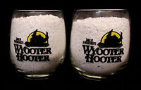 JACK DANIELS WYOOTER HOOTER COCKTAIL GLASSES ~ LOT of 2 ~ FREE PM ~ EUC
