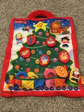 NEW! Fisher Price Little People Fabric Soft Advent Calendar Christmas Tree RARE!