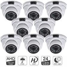 LOT 1080P 2MP CCTV Dome Analog Camera IR Night Vision Security Home Securiy NTSC
