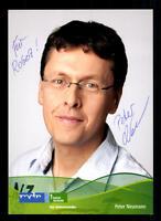 Peter Neumann MDR Autogrammkarte Original Signiert # BC 40417