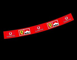 F1 Helmet Visor Sticker 2006 Schumacher Ferrari F1 Motorsport Karting Bell Arai
