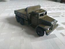 Vintage Soviet army truck URAL-375 USSR metal toy