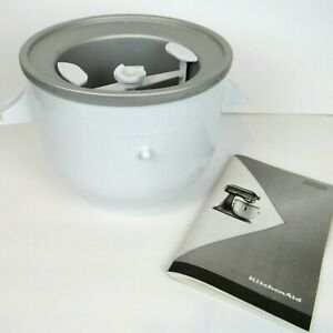 KitchenAid 2-Quart Ice Cream Maker Stand Mixer Attachment KICA0WH MISSING PARTS