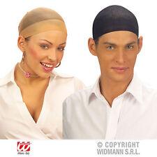 Haarnetz 2 Stk. Hautfarbe & schwarz