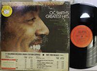 Soul Lp O.C. Smith Greatest Hits On Columbia (Promo)