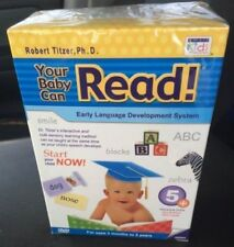 YOUR BABY CAN READ Early Language Development System 5 DVD's~ Free Shipping!