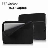 """15.6"""" Inch Soft Laptop Sleeve Case Bag Pouch Cover for HP Dell Lenovo Acer Bags"""