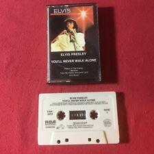 Elvis Presley – You'll Never Walk Alone, Cassette1985  Special Music CAK-2472