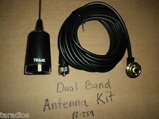 5/8 WAVE DUAL BAND ANTENNA KIT 2 METER 144 / 440 Mhz TRAM 1180 NMO 17 Feet Cable